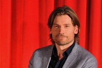 Nikolaj Coster-Waldau onstage at An Evening with Game of Thrones.