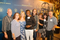 Gregg Gelfand, Julie Gelfand, Cindy Sinclair, Valdez Flagg, Glenn Weiss, Debbie Williams, Sandra Considine and Gary Natoli at the Directors Nominee Reception at the Directors Guild of America in West Hollywood, California.