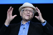 Norman Lear onstage at The Power of TV: A Conversation with Norman Lear and One Day at a Time, presented by the Television Academy Foundation and Netflix in celebration of the Foundation's 20th Anniversary of THE INTERVIEWS: An Oral History Project, on Mo