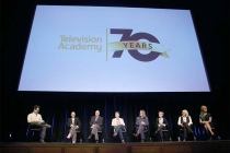 The panel onstage at Transparent: Anatomy of an Episode, March 17, 2016 in Los Angeles.