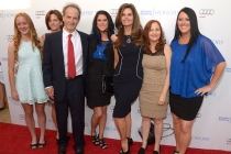 The creators of Paycheck to Paycheck: The Life and Times of Katrina Gilbert arrive at the Eighth Annual Television Academy Honors, May 27 at the Montage Beverly Hills.