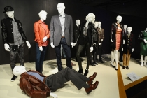 Costumes from Ray Donovan on display at The 9th Annual Outstanding Art of Television Costume Design Exhibition at the FIDM Museum & Galleries, Saturday, July 18, 2015, in Los Angeles.