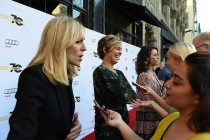 Judith Light, Melora Hardin, and Amy Landecker on the red carpet at Transparent: Anatomy of an Episode, March 17, 2016 in Los Angeles.