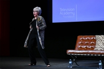 Rita Moreno onstage at The Power of TV: A Conversation with Norman Lear and One Day at a Time, presented by the Television Academy Foundation and Netflix in celebration of the Foundation's 20th Anniversary of THE INTERVIEWS: An Oral History Project, on Mo