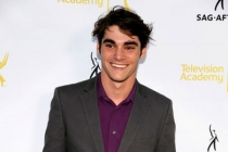 R.J. Mitte of Breaking Bad arrives at Dynamic and Diverse: A 66th Emmy Awards Celebration of Diversity in the NoHo Arts District.
