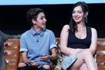 Marcel Ruiz and Isabella Gomez onstage at The Power of TV: A Conversation with Norman Lear and One Day at a Time, presented by the Television Academy Foundation and Netflix in celebration of the Foundation's 20th Anniversary of THE INTERVIEWS: An Oral His