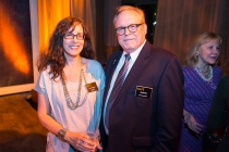 Ruth Adelman and Kevin Pike at the Special Visual Effects Nominee Reception in North Hollywood, California.