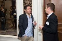 Ryan Garber and Rob Weigan at the New York Networking Night Out, November 13, 2015 at the St. Regis in New York City.