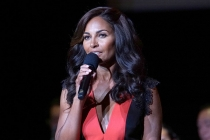 Salli Richardson-Whitfield speaks at WORDS + MUSIC, presented Thursday, June 29, 2017 at the Television Academy's Wolf Theatre at the Saban Media Center in North Hollywood, California.