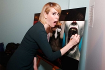 Sarah Paulson at An Evening with the Women of American Horror Story in Hollywood, California.