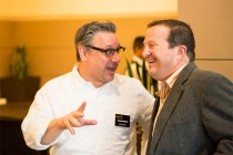 Frank Scherma and Brian O'Rourke at the Commercials Nominee Reception at the Montage Beverly Hills.