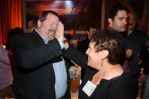 Scott Boyd and Sue Federman at the Picture Editors Nominee Reception in North Hollywood, California.