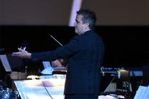 Sean Callery conducts at WORDS + MUSIC, presented Thursday, June 29, 2017 at the Television Academy's Wolf Theatre at the Saban Media Center in North Hollywood, California.