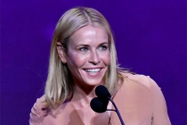 Chelsea Handler presents an award on stage at the 38th College Television Awards presented by the Television Academy Foundation at the Saban Media Center on Wednesday, May 24, 2017, in the NoHo Arts District in Los Angeles.