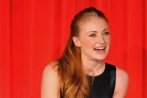 Sophie Turner onstage at An Evening with Game of Thrones.