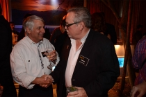 Stuart Bass and Kevin Pike at the Picture Editors Nominee Reception in North Hollywood, California.