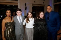 Susan Kelechi Watson,  Mason Cook, Kyla Kenedy, Chrissy Metz, and Cedric Yarbrough at the 2017 Television Academy Honors at the Montage Hotel on Thursday, June 8, 2017, in Beverly Hills, California.