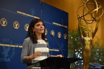 Susanne Bier at the directors nominee reception, September 13, 2016, at the Directors Guild of America headquarters in Los Angeles, California.