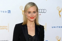 Taylor Schilling arrives at the Performers Peer Group nominee reception in West Hollywood.