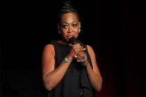 Tichina Arnold at Story TV: Adventures in Hollywood, presented Tuesday, June 13, 2017 at the Television Academy's Wolf Theatre at the Saban Media Center in North Hollywood, California.