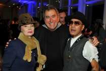"Toni Basil, Kenny Ortega, and Tone Talauega at ""Whose Dance Is It Anyway?"" February 16, 2017, at the Saban Media Center in North Nollywood, California."