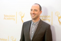 Tony Hale arrives at the Montage Beverly Hills for the 2014 Performers Peer Group Primetime Emmy nominee reception.