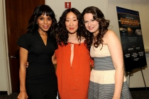 Kerry Washington, Sandra Oh and Katie Lowes at An Evening with Shonda Rhimes and Friends.