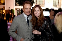 Bradley Whitford of Transparent and Honors host Dana Delaney at the presentation at the Eighth Annual Honors, May 28 at the Montage Beverly Hills.