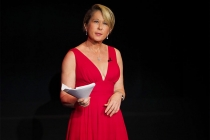 Yeardley Smith at Story TV: Adventures in Hollywood, presented Tuesday, June 13, 2017 at the Television Academy's Wolf Theatre at the Saban Media Center in North Hollywood, California.